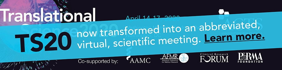 American Federation for Medical Research Translational Science (TS)